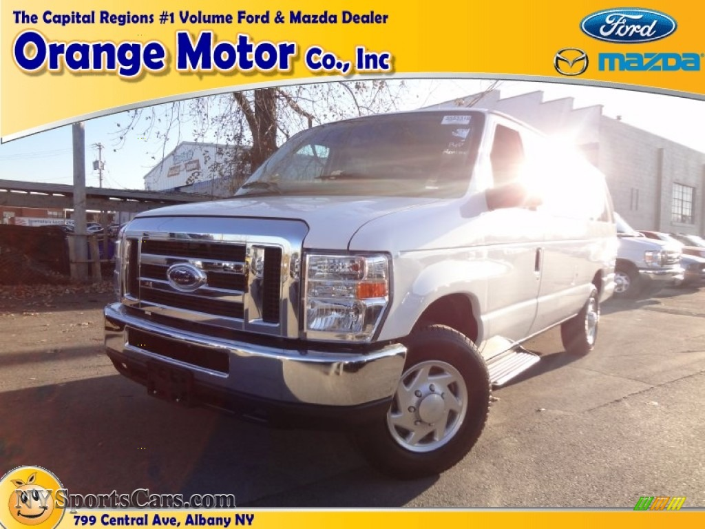2012 ford e series van e350 xlt extended passenger in for Orange motors albany new york