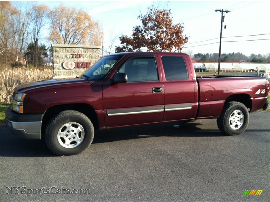 2003 dark carmine red metallic chevrolet silverado 2500hd ls crew cab. Cars Review. Best American Auto & Cars Review