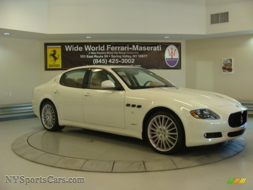 2013 maserati quattroporte s in bianco eldorado white. Black Bedroom Furniture Sets. Home Design Ideas