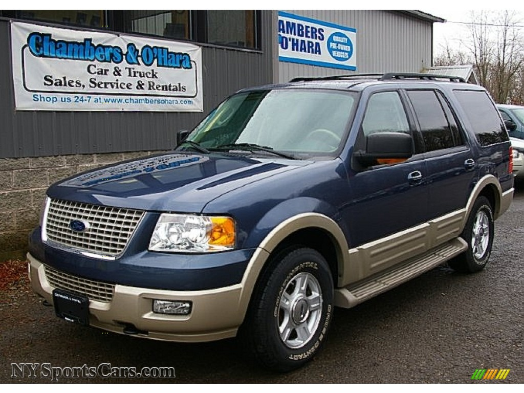 Ford Expedition Eddie Bauer X In Medium Wedgewood Blue - 2006 expedition