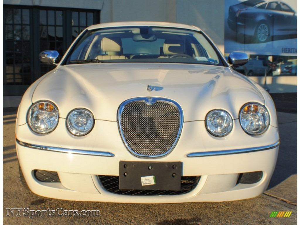 2008 jaguar s type 3 0 in porcelain white photo 2 n89467 cars for sale. Black Bedroom Furniture Sets. Home Design Ideas