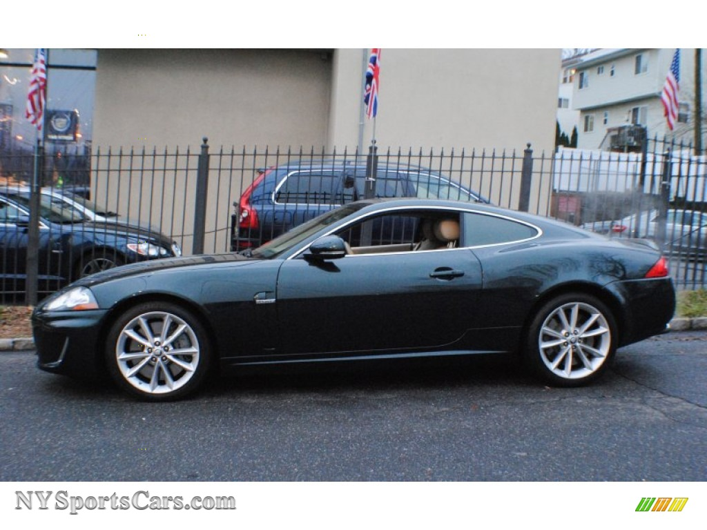 2010 Jaguar Xk Xkr Coupe In Botanical Green Metallic Photo 3 B32860