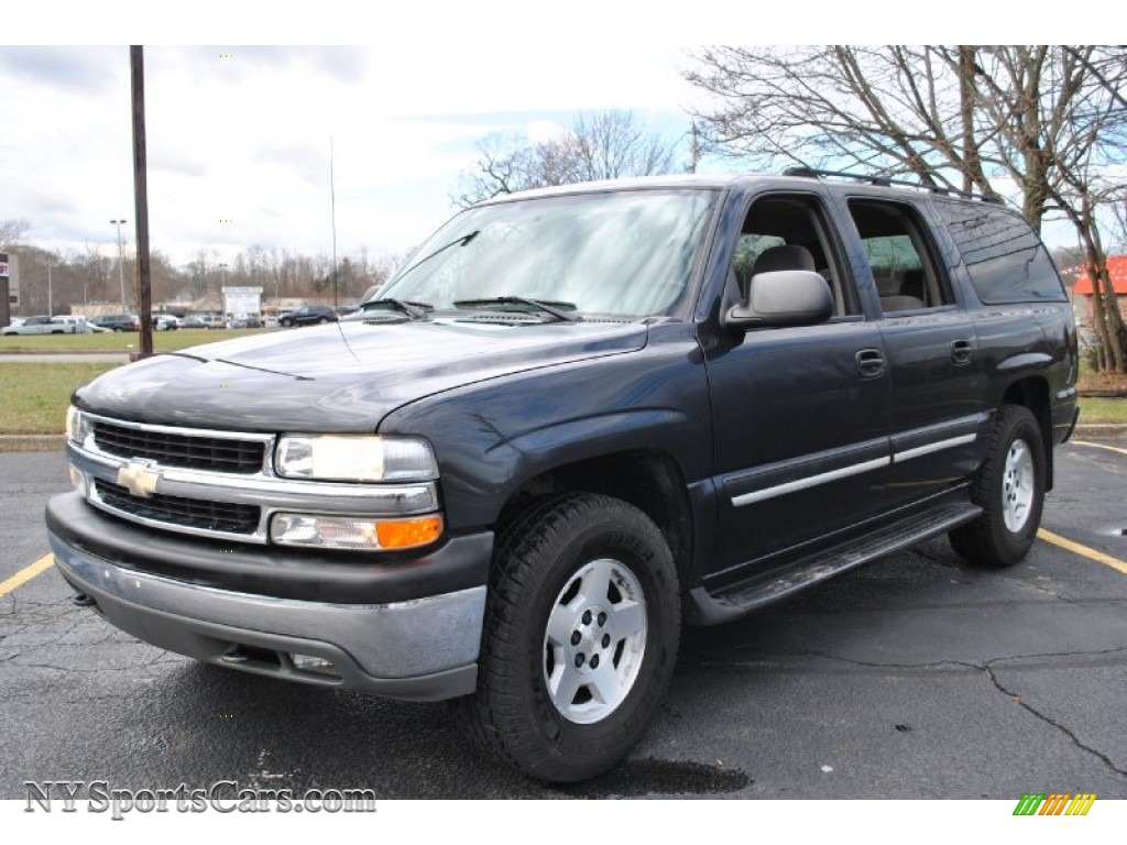 2004 chevrolet suburban 1500 lt 4x4 in dark gray metallic. Black Bedroom Furniture Sets. Home Design Ideas