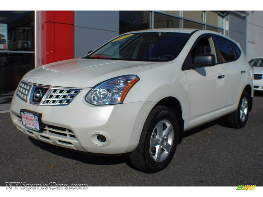 2010 nissan rogue s awd 360 value package in phantom white