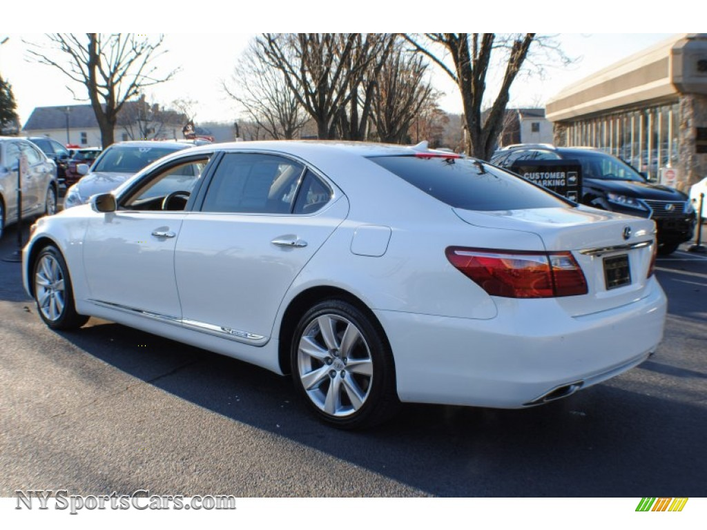 2012 lexus ls 600h l awd hybrid in starfire white pearl. Black Bedroom Furniture Sets. Home Design Ideas