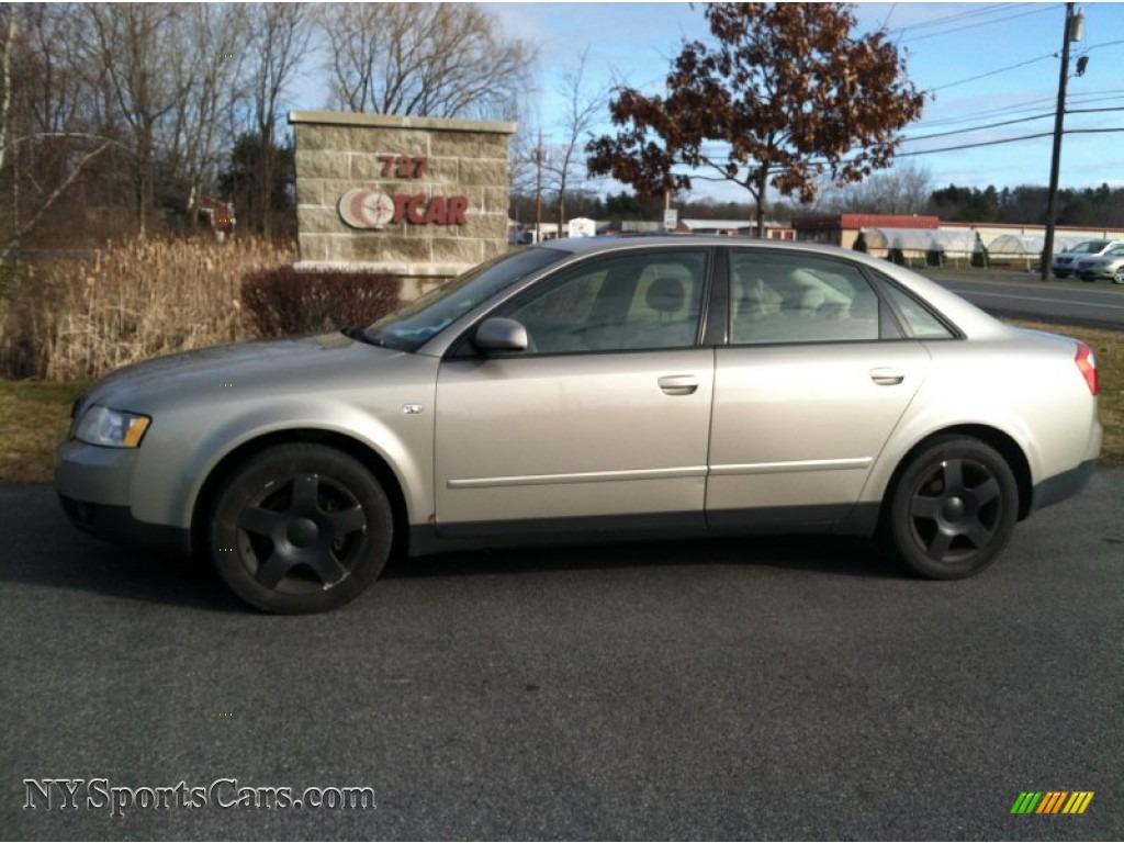 2003 audi a4 1.8t quattro sedan in light silver metallic - 377890
