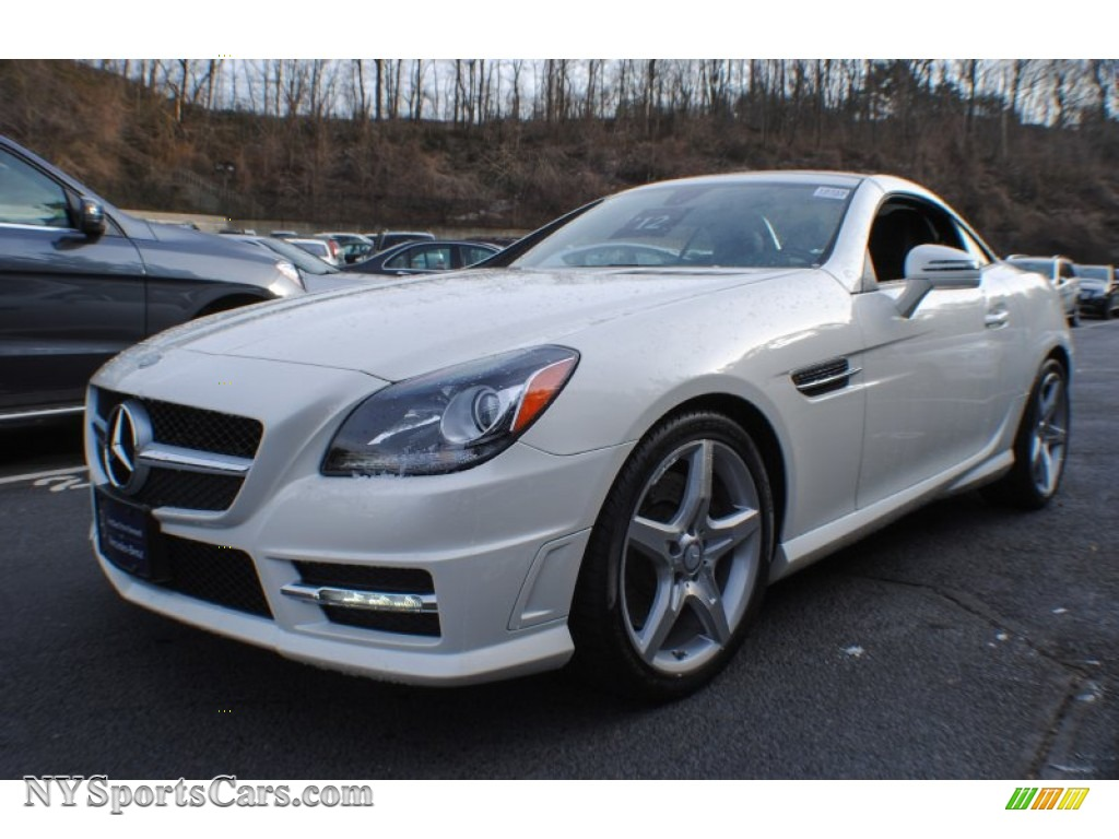 2012 mercedes benz slk 250 roadster in diamond white metallic 046659 cars. Black Bedroom Furniture Sets. Home Design Ideas