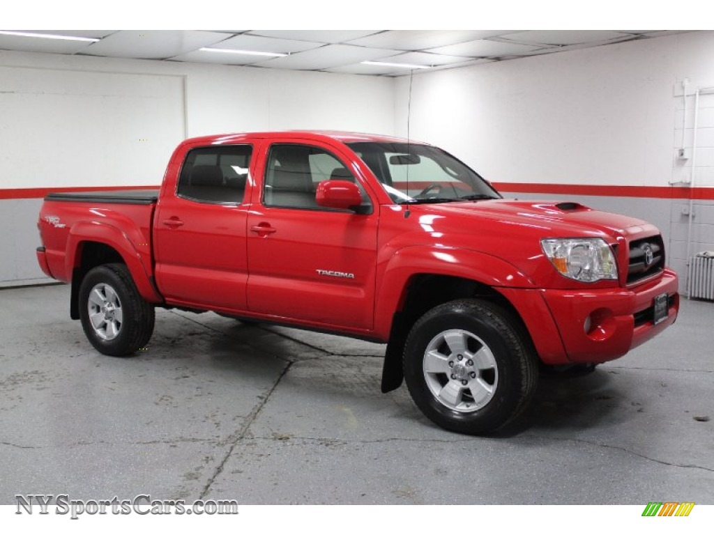 2006 Toyota Tacoma V6 PreRunner TRD Sport Double Cab in Radiant Red ...