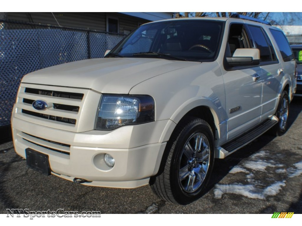 2007 Ford Expedition Limited 4x4 in White Sand Tri Coat Metallic - A93680 | NYSportsCars.com ...