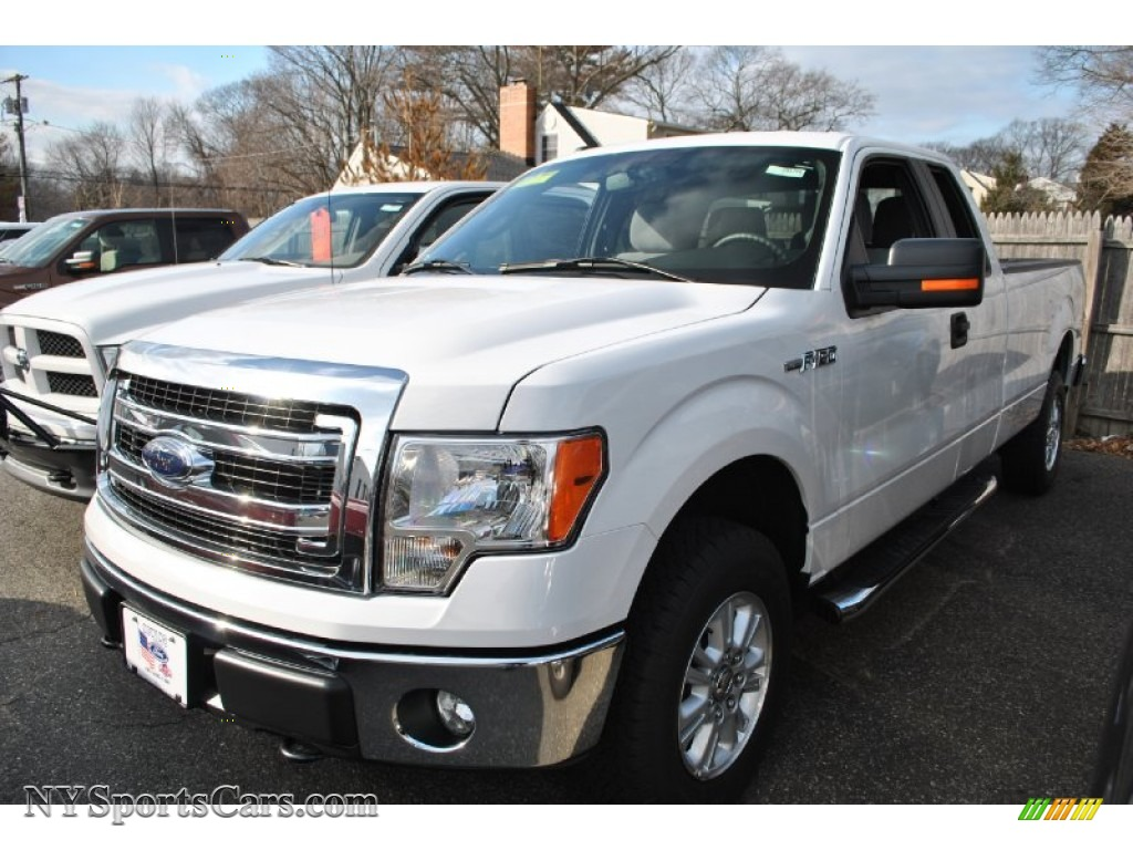 2013 ford f150 xlt supercab 4x4 in oxford white d12207 cars for sale in. Black Bedroom Furniture Sets. Home Design Ideas