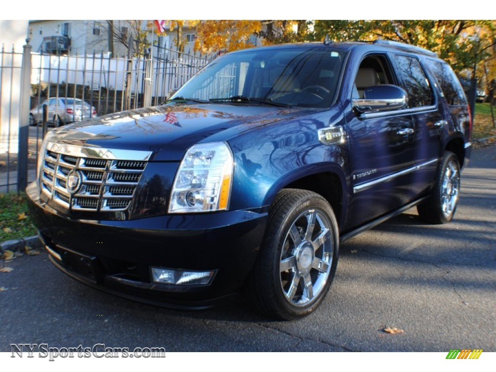 2009 cadillac escalade hybrid awd in blue chip 100058 cars for sale in. Black Bedroom Furniture Sets. Home Design Ideas