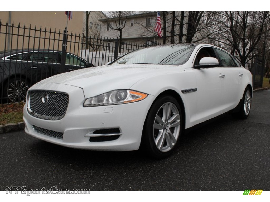 2012 jaguar xj xjl portfolio in polaris white v28829. Black Bedroom Furniture Sets. Home Design Ideas