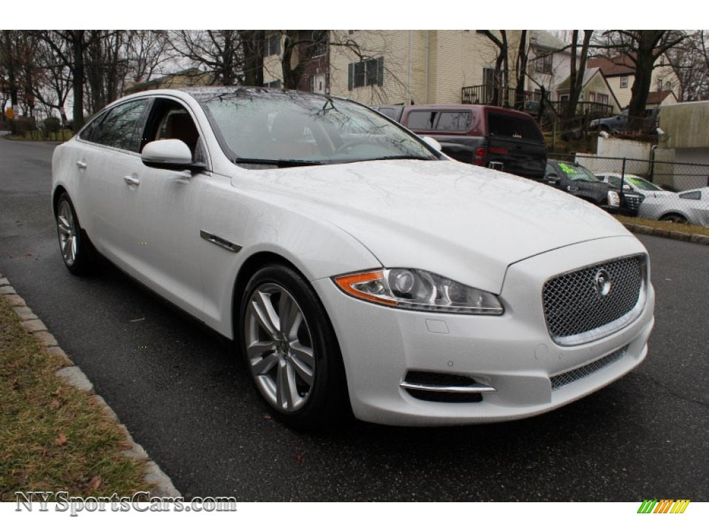 2012 jaguar xj xjl portfolio in polaris white photo 7. Black Bedroom Furniture Sets. Home Design Ideas