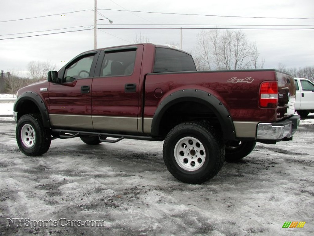 2005 ford f150 fx4 roush stage 1 supercrew 4x4 in dark toreador red metallic photo 6 c15221. Black Bedroom Furniture Sets. Home Design Ideas