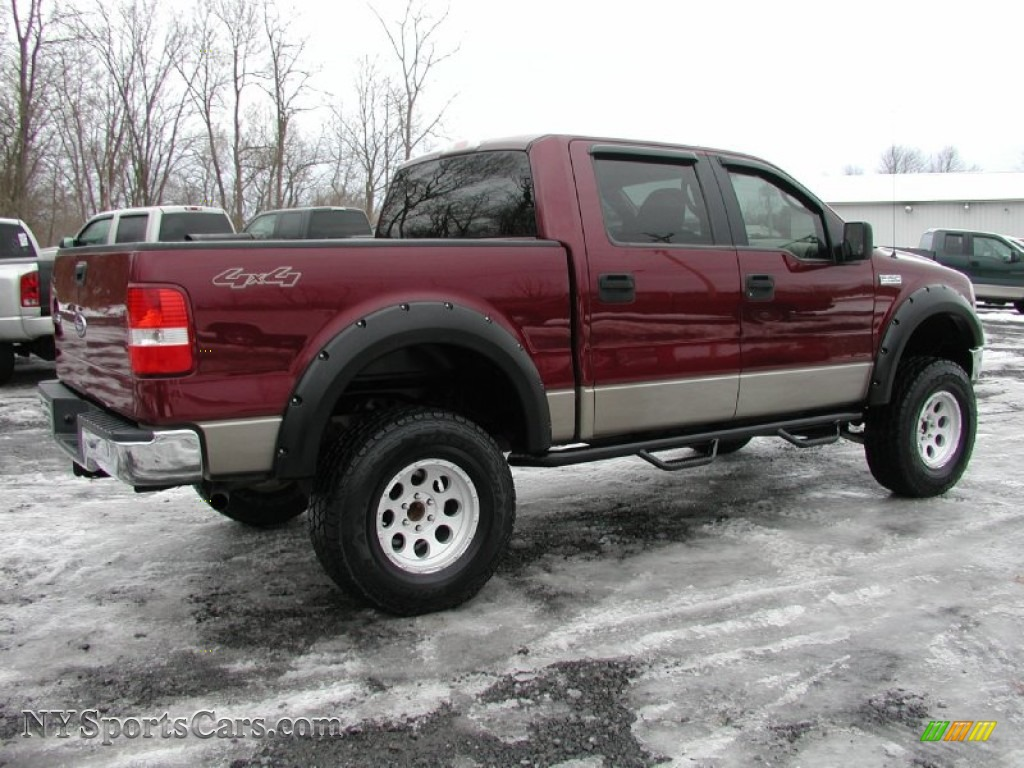 2005 ford f150 fx4 roush stage 1 supercrew 4x4 in dark toreador red metallic photo 12 c15221. Black Bedroom Furniture Sets. Home Design Ideas