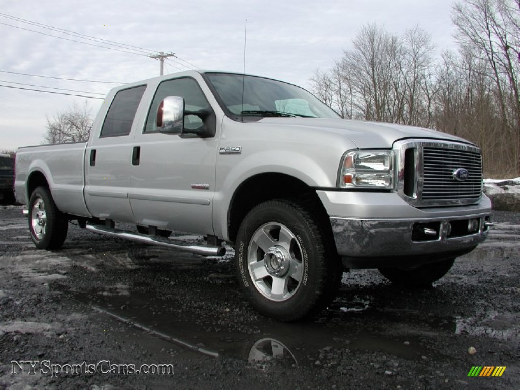 2006 ford f250 super duty tuscany ftx crew cab 4x4 in silver metallic photo 18 b74235. Black Bedroom Furniture Sets. Home Design Ideas