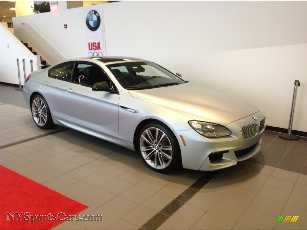2013 Bmw 6 Series 650i Xdrive Coupe In Titanium Silver
