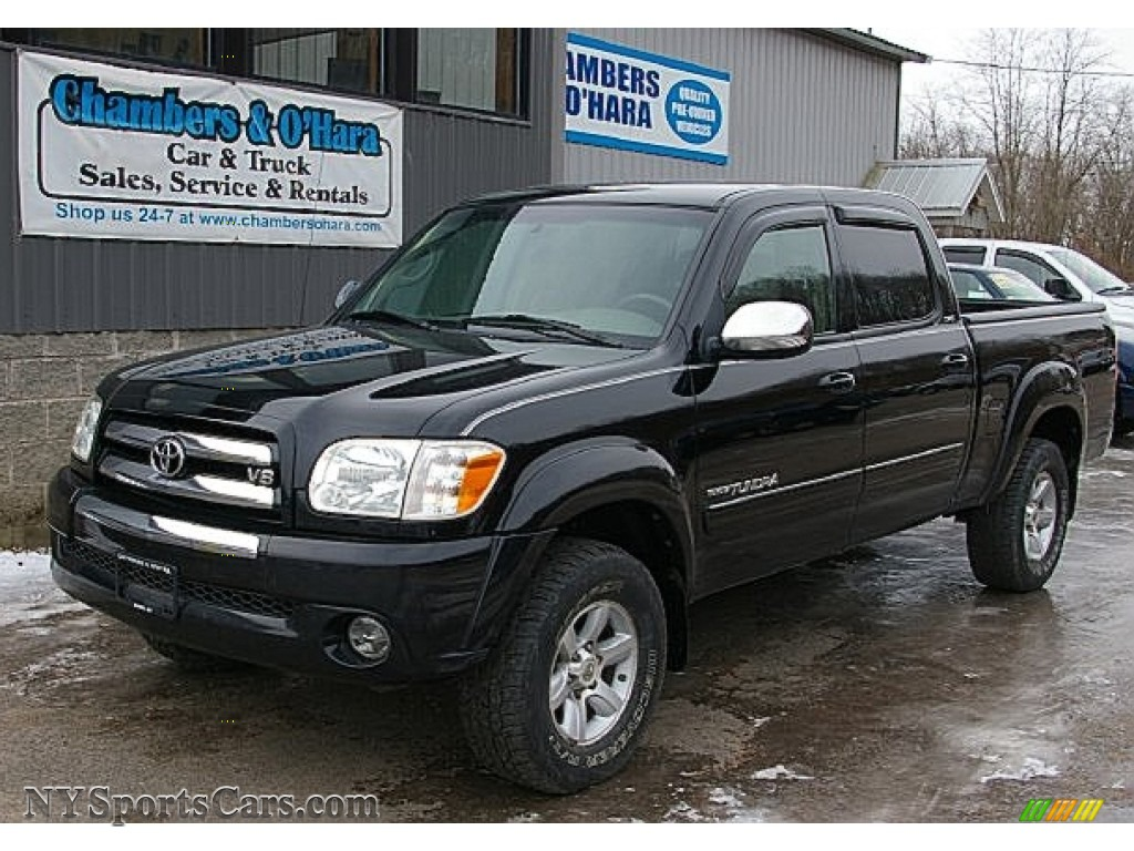 2006 toyota tundra sr5 double cab 4x4 in black 503696 cars for sale in. Black Bedroom Furniture Sets. Home Design Ideas