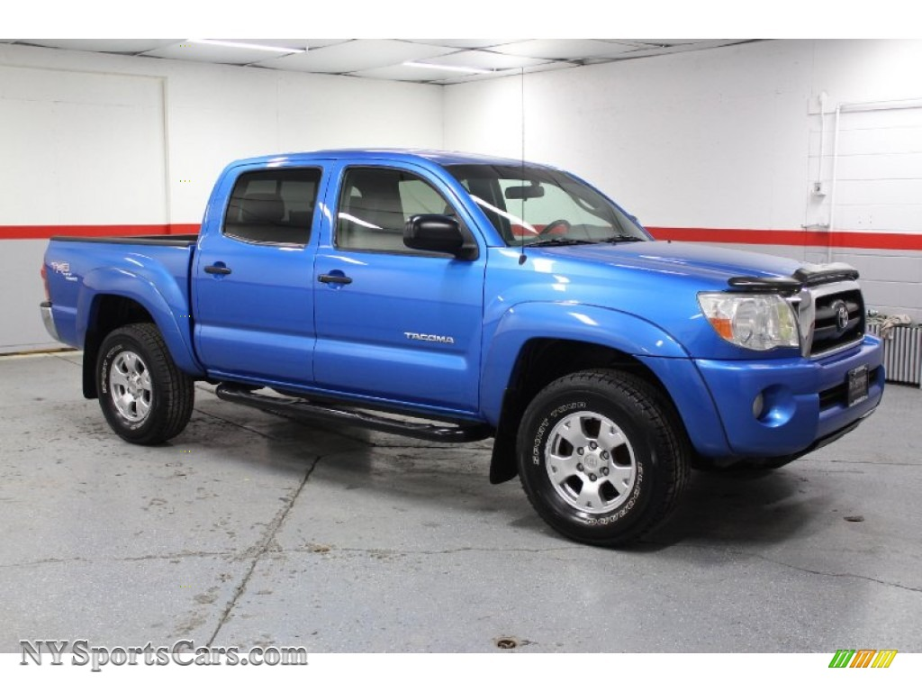2005 toyota tacoma v6 trd double cab 4x4 in speedway blue 110397 cars for. Black Bedroom Furniture Sets. Home Design Ideas