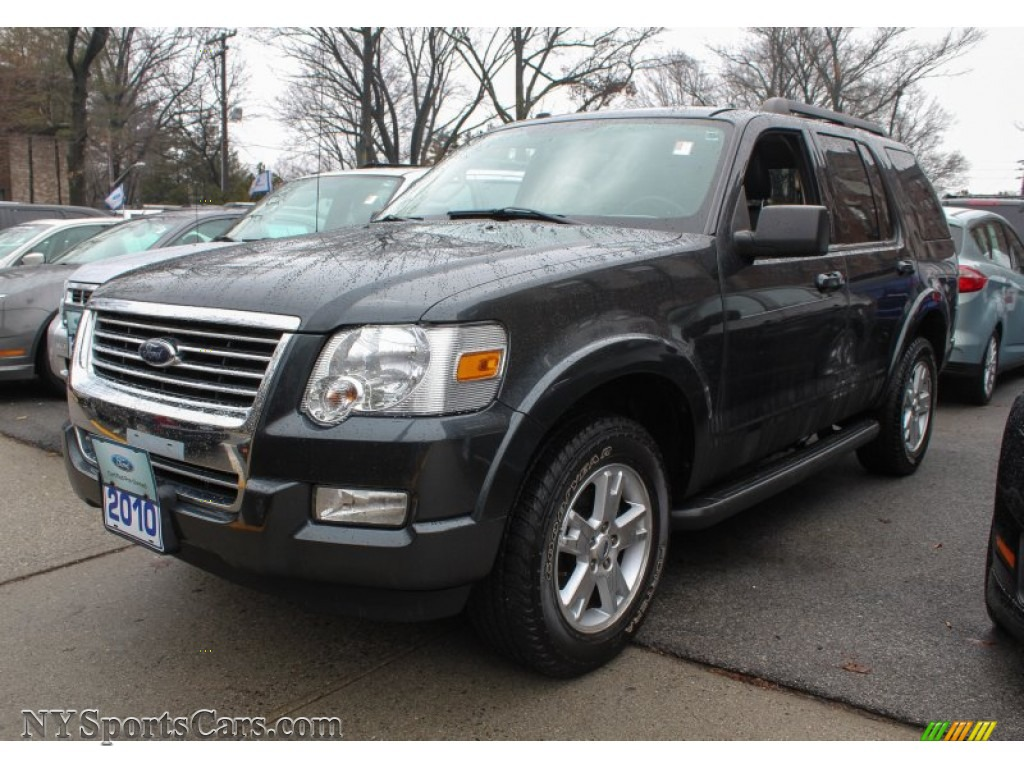 2010 ford explorer xlt 4x4 in black pearl slate metallic a79145 cars for. Black Bedroom Furniture Sets. Home Design Ideas