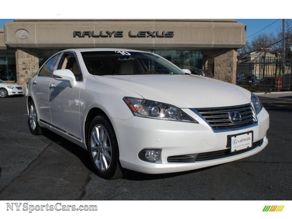 2010 lexus es 350 in starfire white pearl 352747 cars for sale in new york. Black Bedroom Furniture Sets. Home Design Ideas
