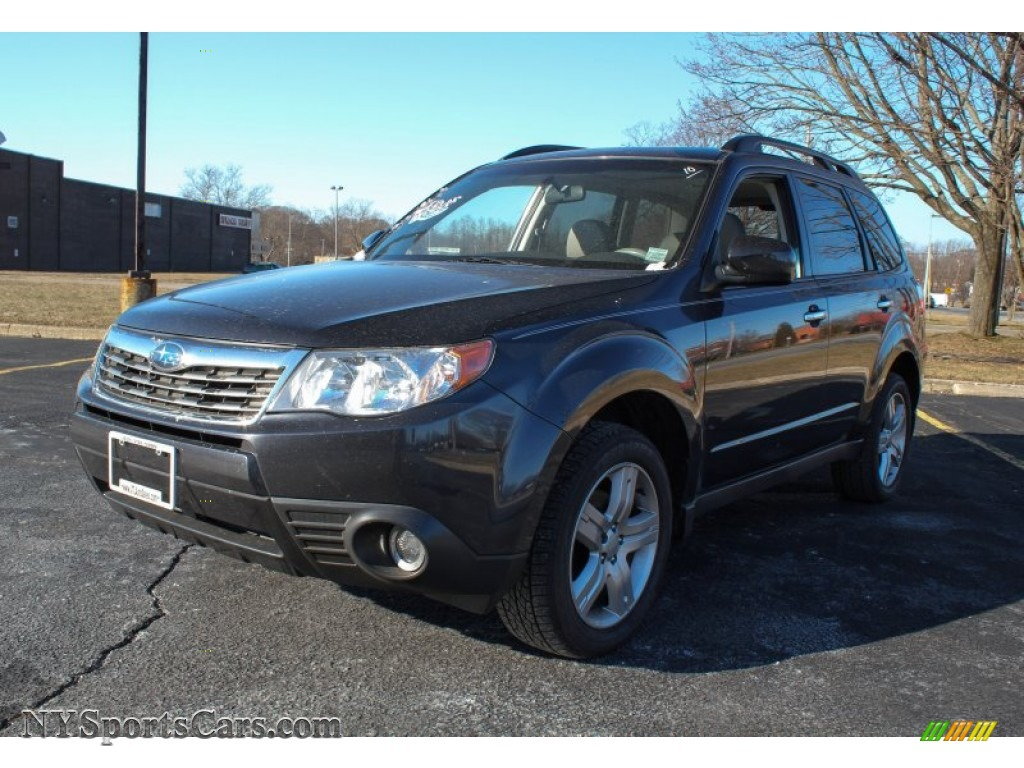 2009 Subaru Forester 2 5 X Limited In Obsidian Black Pearl 737507 Nysportscars Com Cars