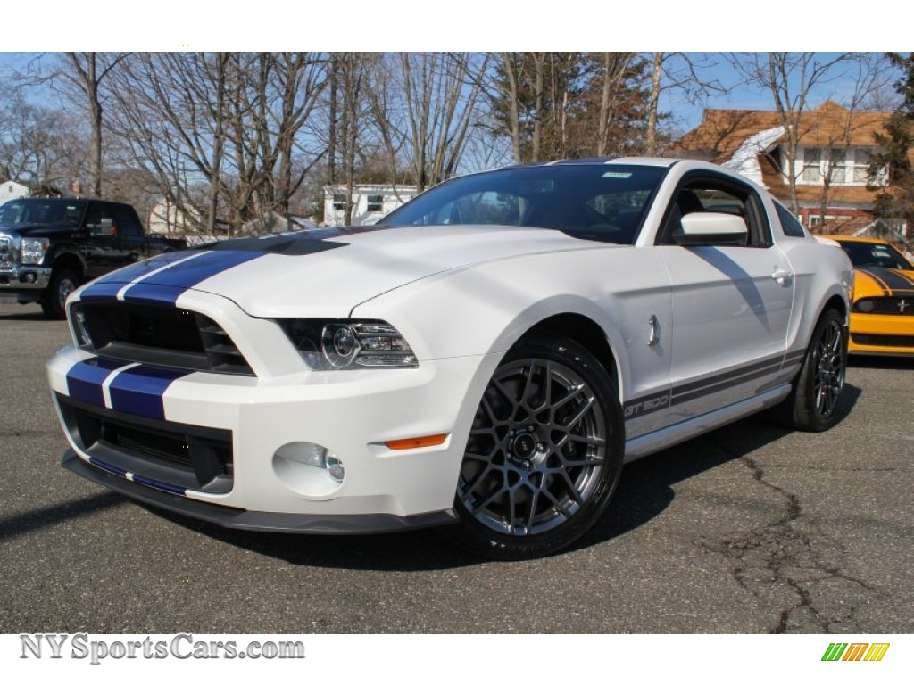 2013 ford mustang shelby gt500 svt performance package coupe in performance white 263057. Black Bedroom Furniture Sets. Home Design Ideas