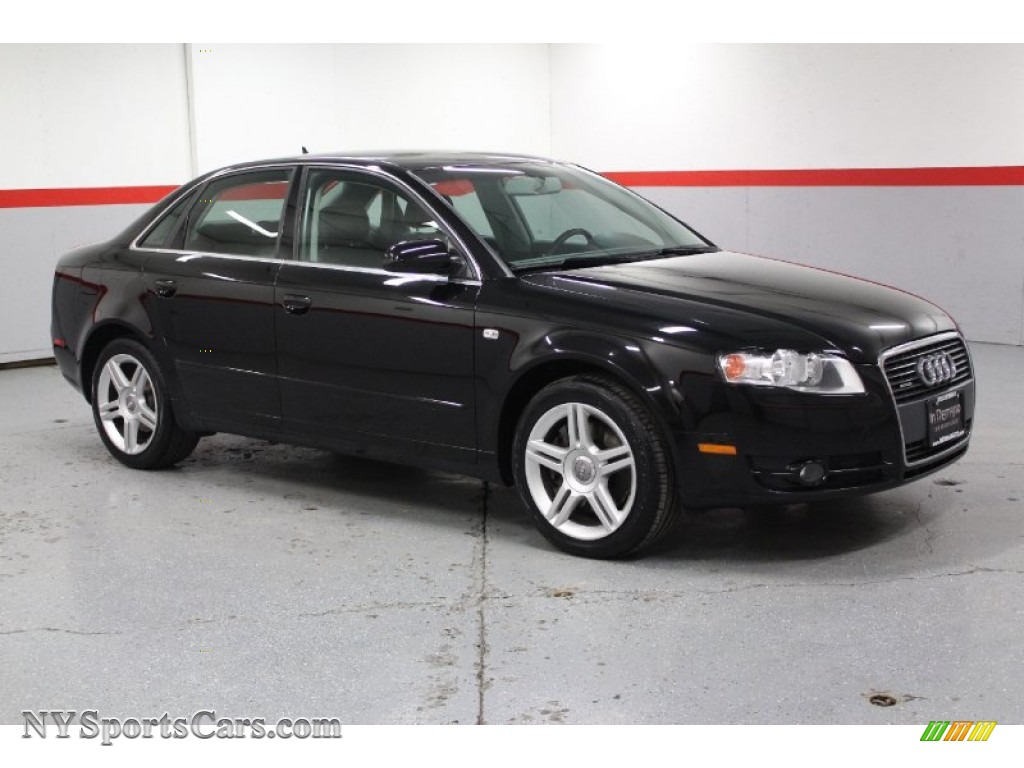2007 audi a4 2 0t quattro sedan in brilliant black 126056 cars for sale. Black Bedroom Furniture Sets. Home Design Ideas