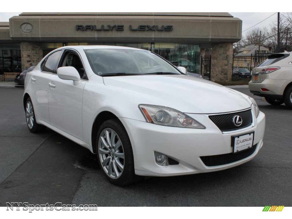 2007 lexus is 250 awd in starfire white pearl photo 8 015665 cars for. Black Bedroom Furniture Sets. Home Design Ideas