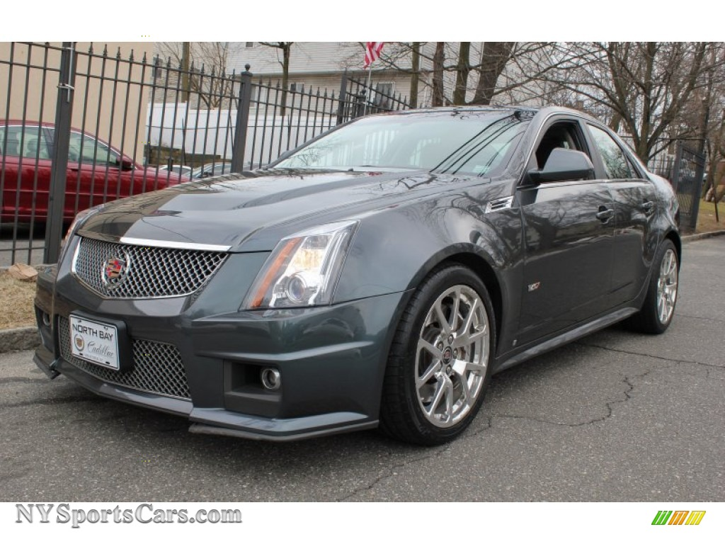 2009 cadillac cts v sedan in thunder gray chromaflair 164493 cars for. Black Bedroom Furniture Sets. Home Design Ideas
