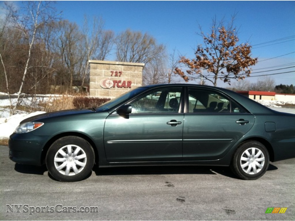 2005 Toyota Camry Le In Aspen Green Pearl 101007 Nysportscars