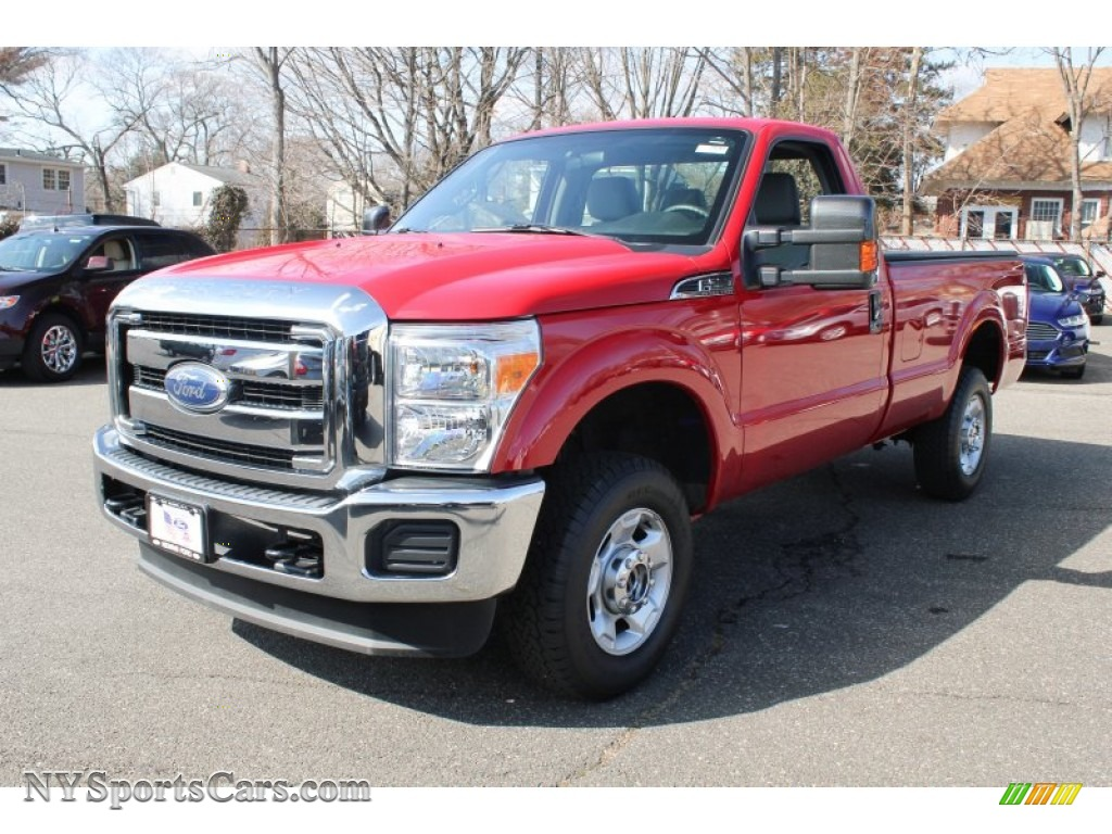 2012 ford f250 super duty xlt regular cab 4x4 in vermillion red a37848. Black Bedroom Furniture Sets. Home Design Ideas
