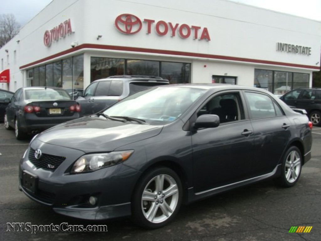 2009 toyota corolla xrs in magnetic gray metallic 027195. Black Bedroom Furniture Sets. Home Design Ideas