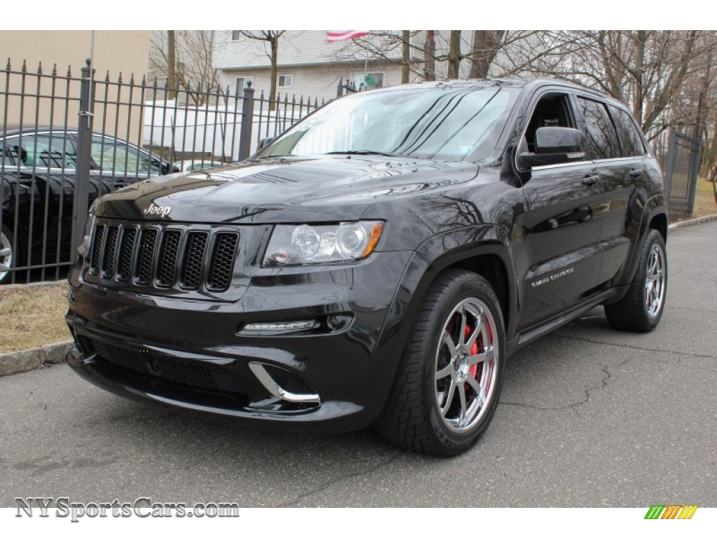 2012 Jeep Grand Cherokee Srt8 4x4 In Brilliant Black