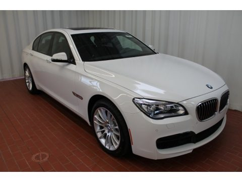 2008 BMW 7 Series 750Li Sedan in Alpine White - T87626 | NYSportsCars