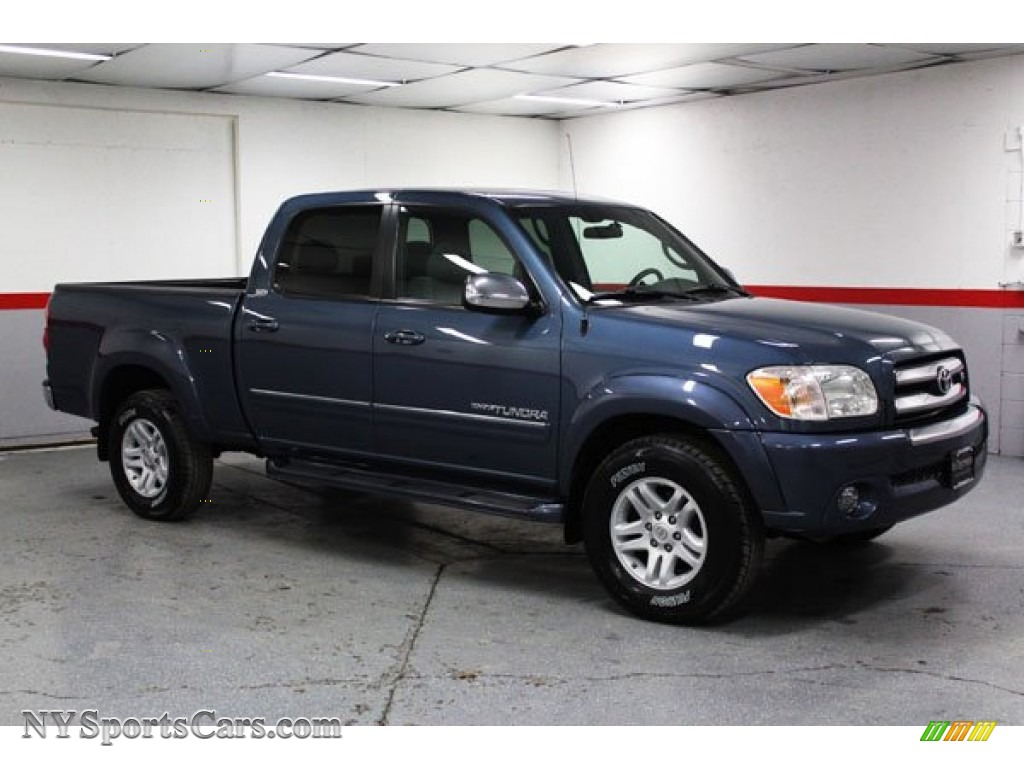 2006 Toyota Tundra SR5 Double Cab 4x4 in Bluesteel ...