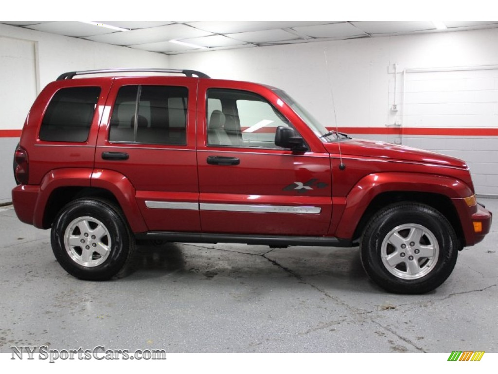 All Types liberty crd : 2005 Jeep Liberty CRD Limited 4x4 in Inferno Red Crystal Pearl ...