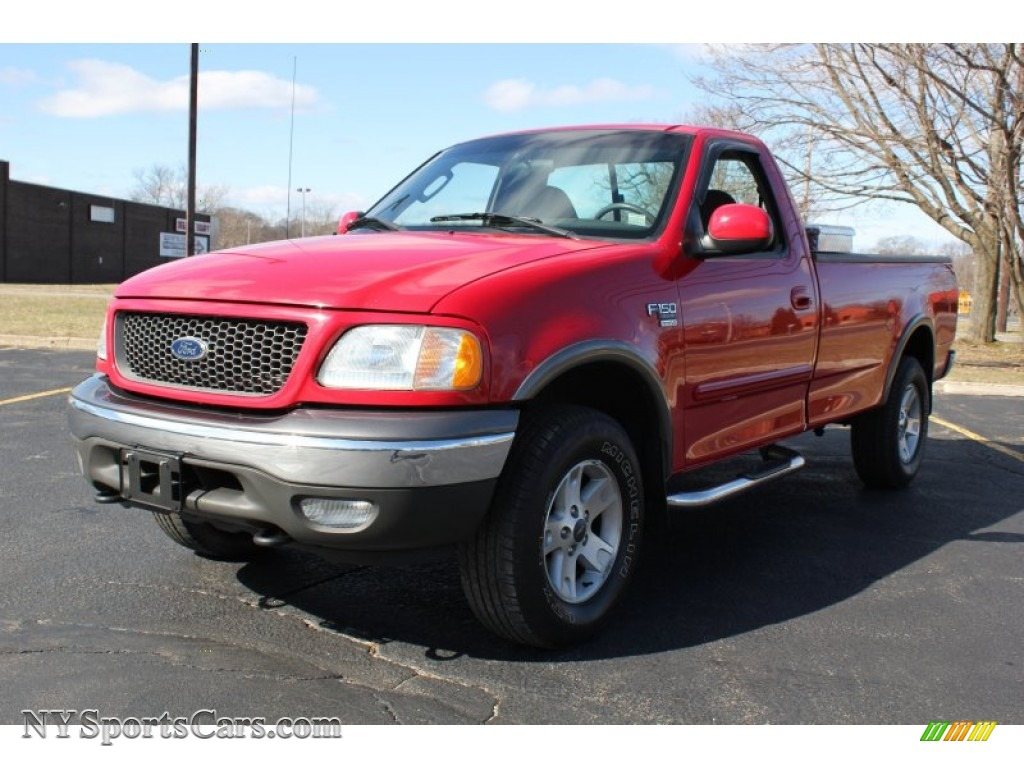 2003 Ford F150 Fx4 Regular Cab 4x4 In Bright Red A45798