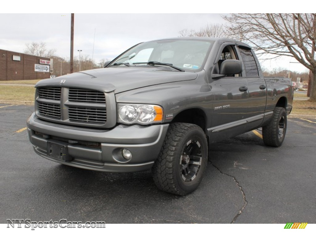 2005 dodge ram 1500 st quad cab 4x4 in mineral gray metallic 352184 cars. Black Bedroom Furniture Sets. Home Design Ideas