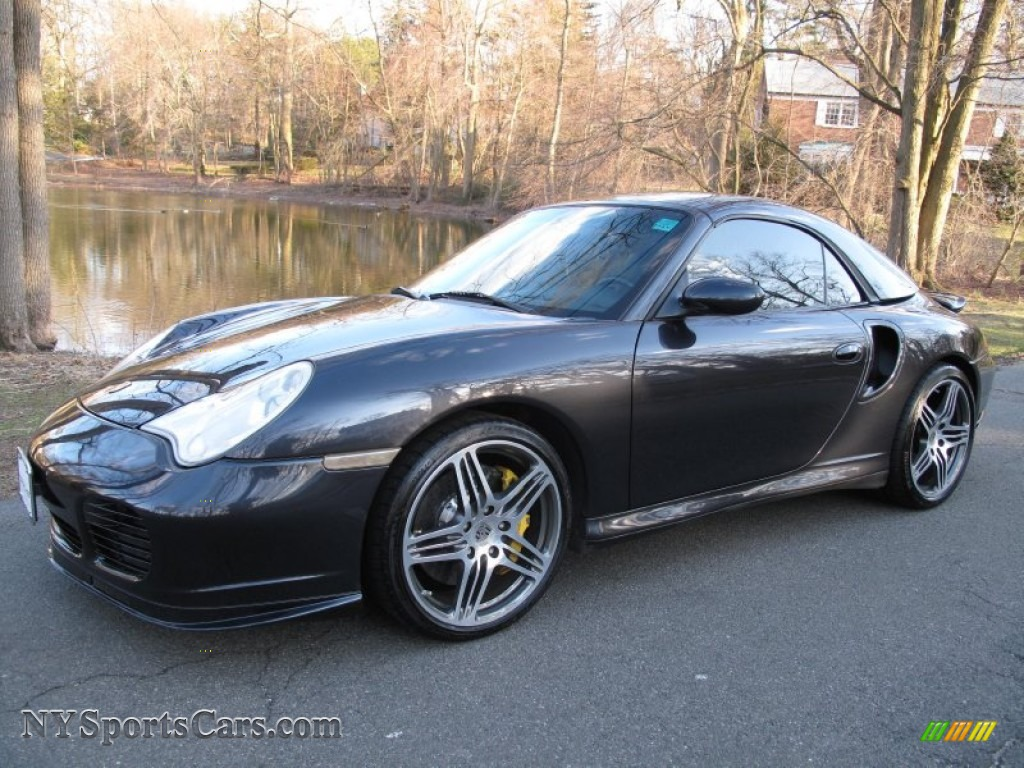 2005 porsche 911 turbo s cabriolet in atlas grey metallic. Black Bedroom Furniture Sets. Home Design Ideas