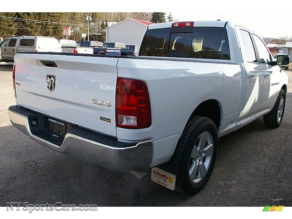 2011 dodge ram 1500 slt quad cab 4x4 in bright white photo. Black Bedroom Furniture Sets. Home Design Ideas