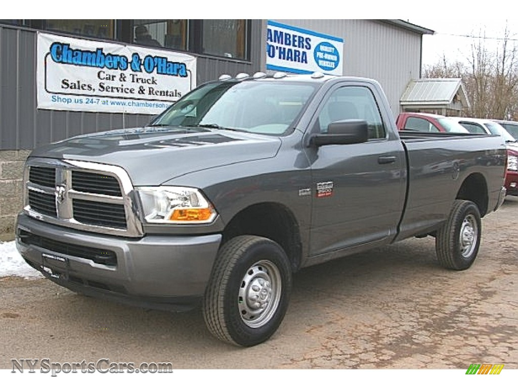 2011 dodge ram 2500 hd st regular cab 4x4 in mineral gray. Black Bedroom Furniture Sets. Home Design Ideas