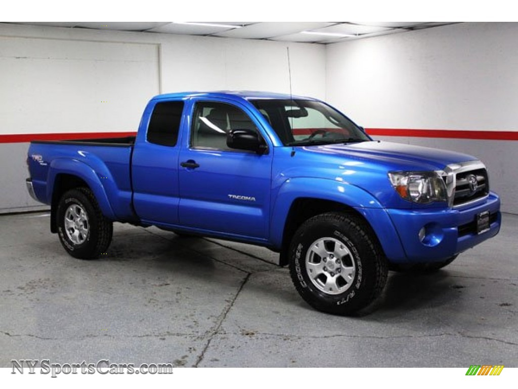 2009 toyota tacoma v6 trd access cab 4x4 in speedway blue metallic 629348. Black Bedroom Furniture Sets. Home Design Ideas