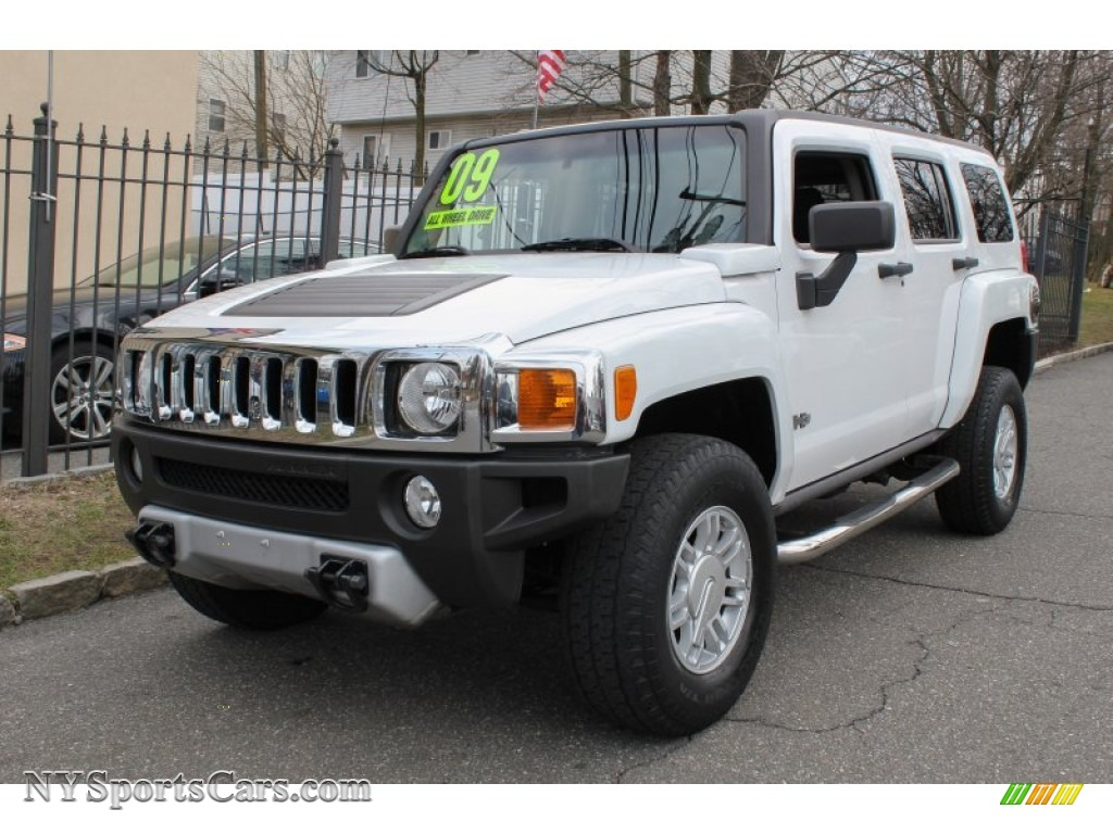 Northern Neck Chevrolet >> 2009 Hummer H3 in Birch White - 111909 | NYSportsCars.com - Cars for sale in New York