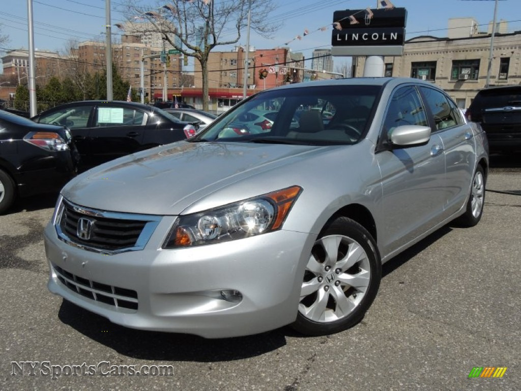 2009 Honda Accord Ex L V6 Sedan In Alabaster Silver