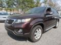 Kia Sorento LX Dark Cherry photo #1