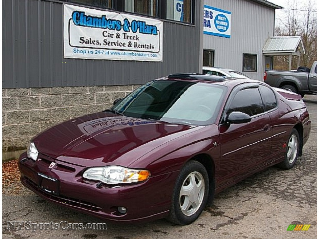2004 chevrolet monte carlo ss in berry red metallic. Black Bedroom Furniture Sets. Home Design Ideas