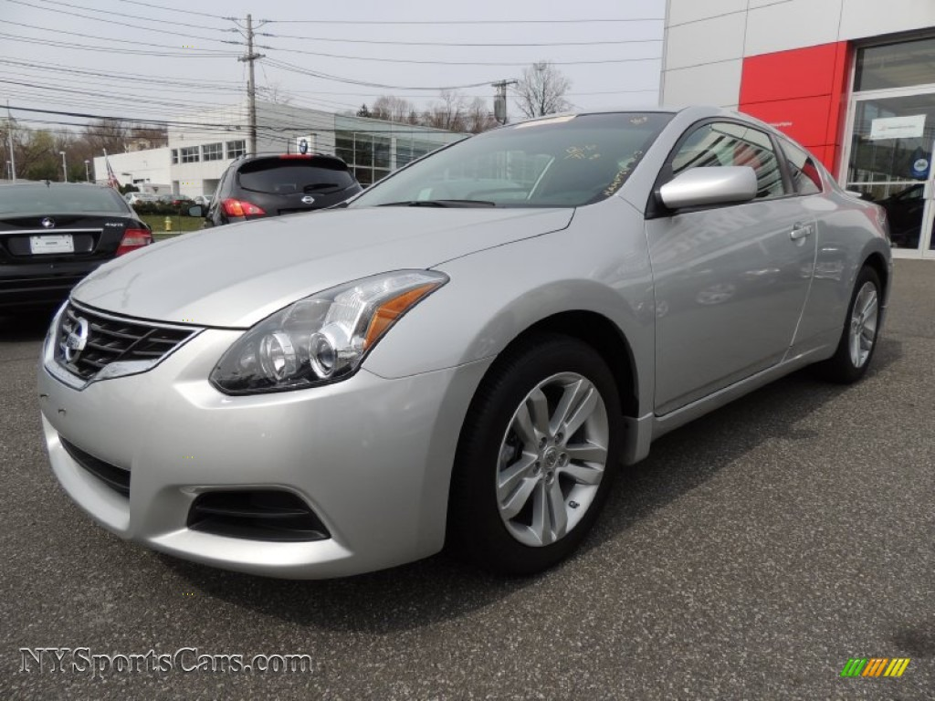 Nissan Altima Coupe 2.5 S >> 2012 Nissan Altima 2.5 S Coupe in Brilliant Silver - 208090 | NYSportsCars.com - Cars for sale ...