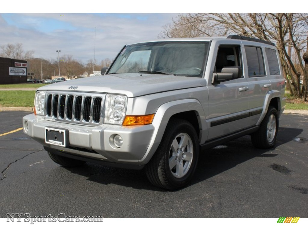 Liberty Auto Sales >> 2007 Jeep Commander Sport 4x4 in Bright Silver Metallic - 690999 | NYSportsCars.com - Cars for ...
