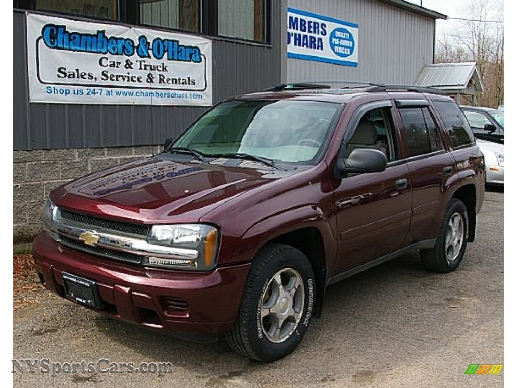 2006 chevrolet trailblazer ls 4x4 in bordeaux red metallic. Black Bedroom Furniture Sets. Home Design Ideas